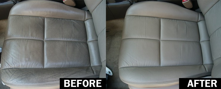 How to clean car interior – Leather upholstery