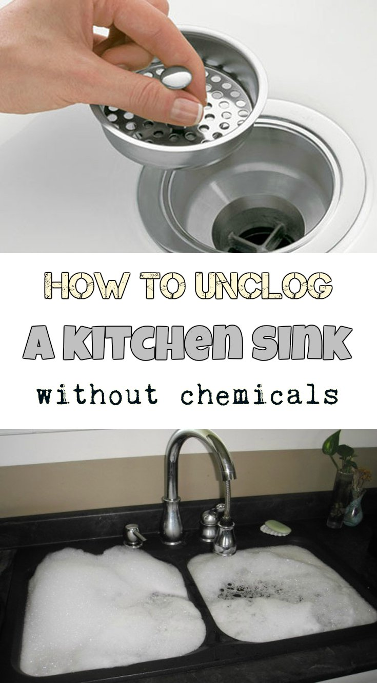how unclog a kitchen sink how to unclog a kitchen sink without chemicals 7384