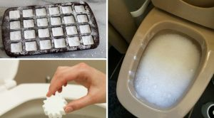 How To Make Cleaning Bombs To Clean And Disinfect The Toilet Bowl